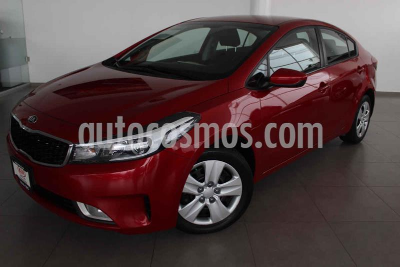 Kia Forte LX Aut usado (2017) color Rojo precio $215,000