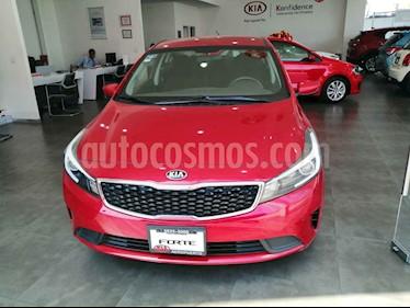 Kia Forte L usado (2018) color Rojo precio $195,000