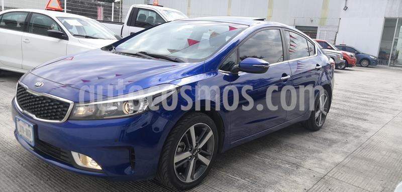 Kia Forte SX Aut usado (2017) color Azul Celeste precio $235,000