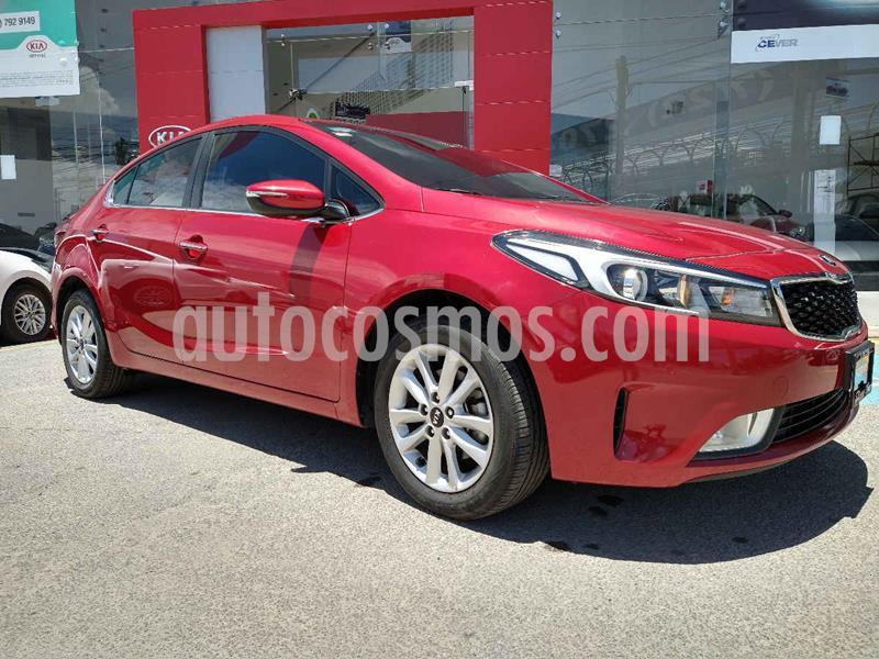 Kia Forte EX Aut usado (2018) color Rojo precio $254,900