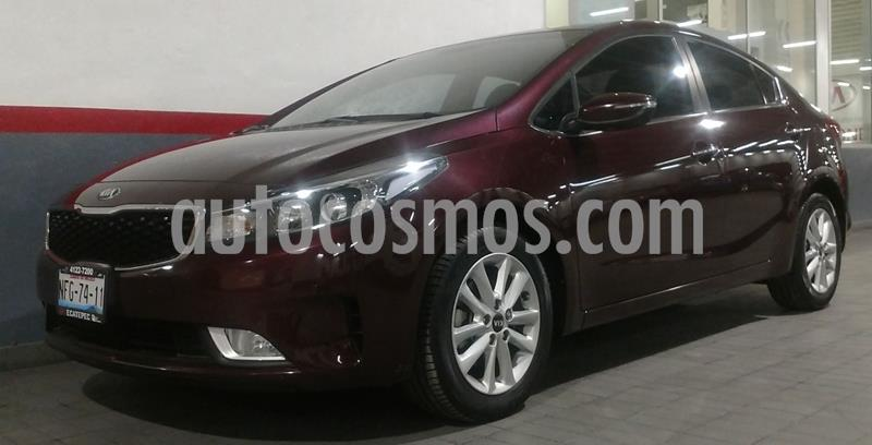 Kia Forte EX Aut usado (2018) color Rojo precio $237,000