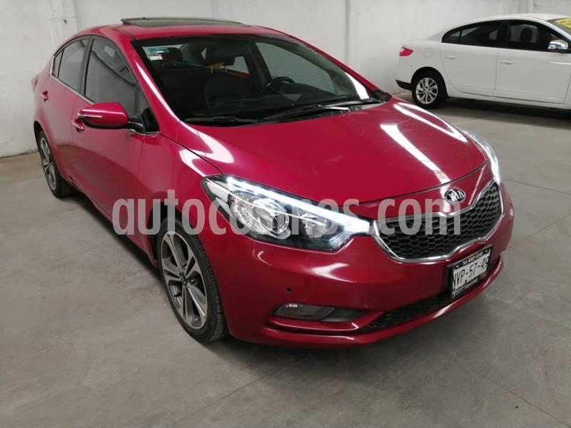 Kia Forte SX Aut usado (2016) color Rojo precio $205,700