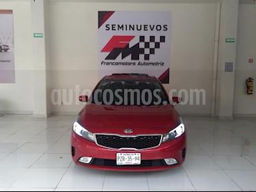 Foto venta Auto usado Kia Forte SX Aut (2017) color Rojo precio $260,000