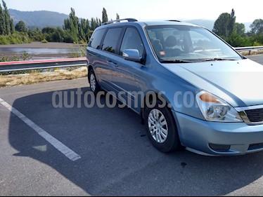 Foto venta Auto usado Kia Grand Carnival 2.2L EX Diesel (2014) color Celeste precio $10.500.000