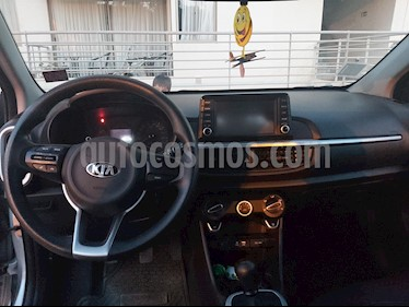 Kia Morning C 1.2L EX ABS AC  usado (2019) color Plata precio $6.400.000
