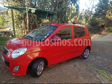 Kia Morning 1.0L  usado (2011) color Rojo Senal precio $2.700.000
