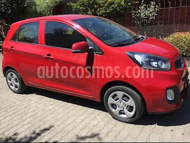 Kia Morning EX 1.2L usado (2015) color Rojo precio $4.390.000