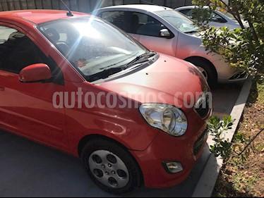 Kia Morning EX 1.1L Dh usado (2011) color Rojo precio $3.000.000