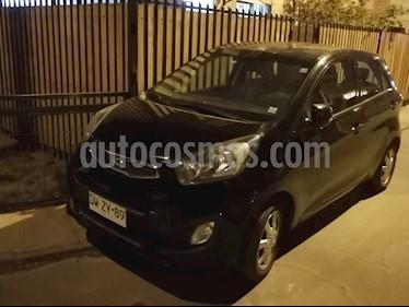 Kia Morning EX 1.2L 2AB Aut  usado (2012) color Negro precio $3.800.000
