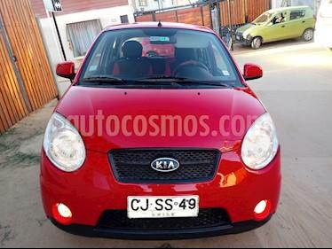 Kia Morning EX 1.1L Dh Aa usado (2010) color Rojo precio $2.990.000