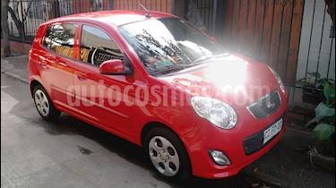 Kia Morning EX 1.2L usado (2011) color Rojo precio $2.700.000