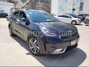 Kia Niro 5 pts. EX Hibrido, TA, A/AC, f.led, Piel, QC, RA-1 usado (2019) color Negro precio $455,000