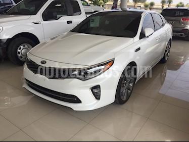 Foto venta Auto usado Kia Optima 2.0L Turbo GDI SXL (2018) color Blanco Perla precio $430,000