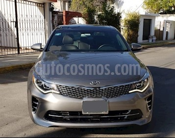 Kia Optima 2.0L Turbo GDI SXL usado (2017) color Plata Brillante precio $390,000