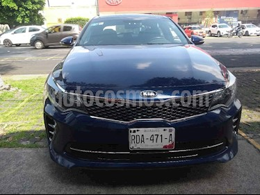 Foto venta Auto usado Kia Optima 2.0L Turbo GDI SXL (2016) color Azul precio $315,000