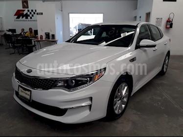 Foto venta Auto usado Kia Optima 2.4L GDI EX (2018) color Blanco precio $359,000