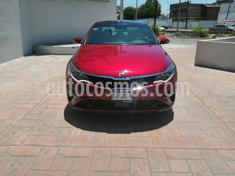 Kia Optima 2.0L Turbo GDI SXL usado (2020) color Rojo precio $449,900