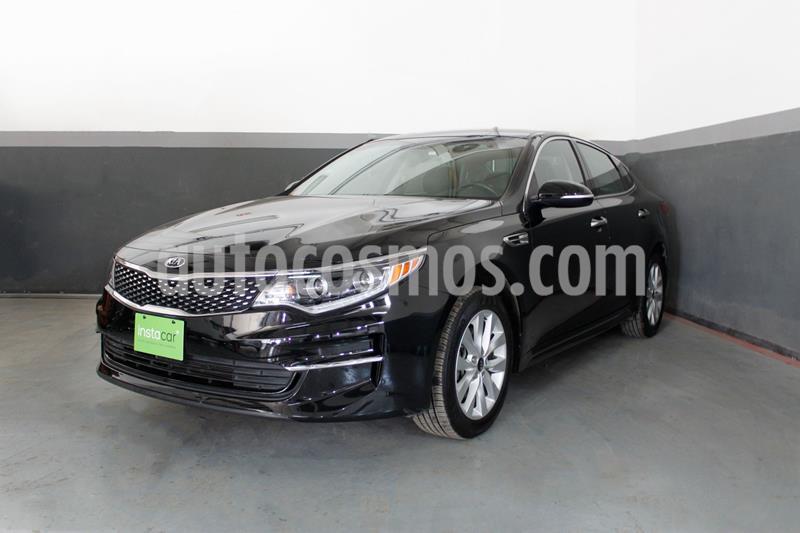 Kia Optima 2.4L GDI EX usado (2018) color Negro precio $315,000