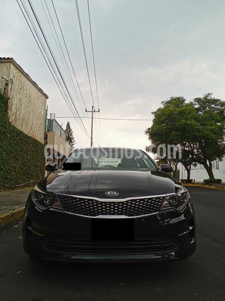 Kia Optima 2.4L GDI EX usado (2016) color Negro precio $245,000