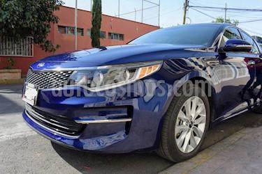 Kia Optima 2.4L GDI EX Pack usado (2017) color Azul Horizonte precio $285,000