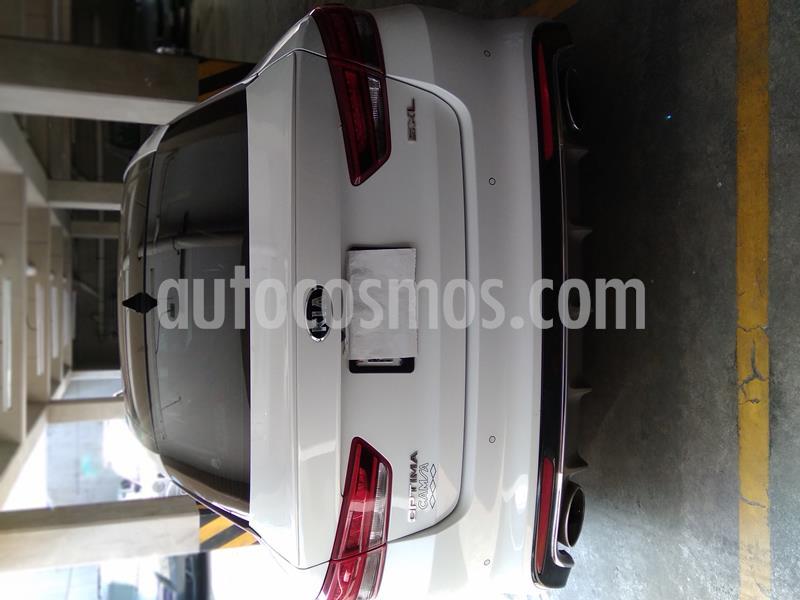 Kia Optima 2.0L Turbo GDI SXL usado (2017) color Blanco Perla precio $325,000