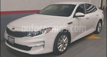 Kia Optima 4p EX L4/2.4 Aut usado (2018) color Blanco precio $349,000
