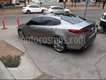 Kia Optima 4 pts. SXL, 2.0T TA Climatronic, Piel QCP GPS Harm usado (2018) color Blanco precio $385,000