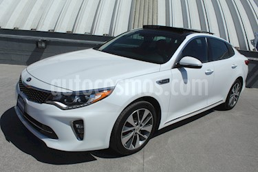 Kia Optima 2.0L Turbo GDI SXL usado (2018) color Blanco Perla precio $329,000