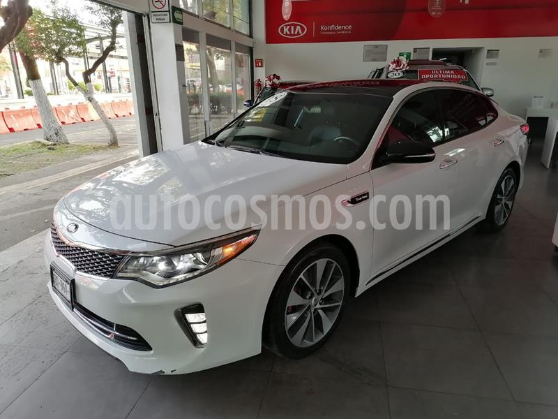 Kia Optima 2.0L Turbo GDI SXL usado (2018) color Blanco Perla precio $349,900