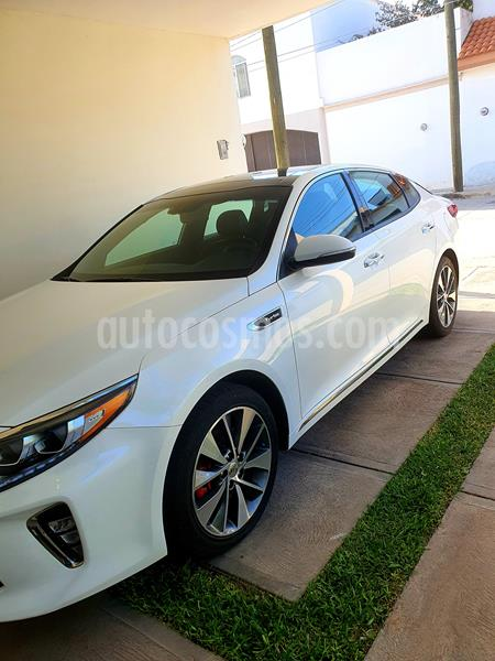 Kia Optima 2.0L Turbo GDI SXL usado (2018) color Blanco precio $340,000