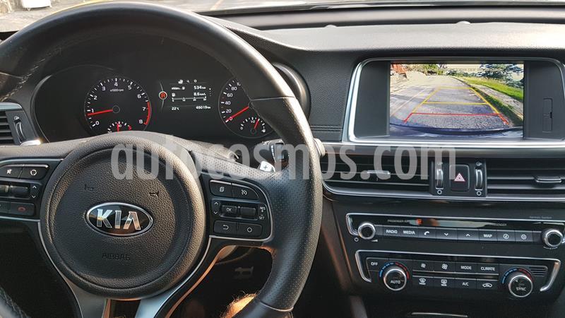 Kia Optima 2.0L Turbo GDI SXL usado (2016) color Negro precio $298,000