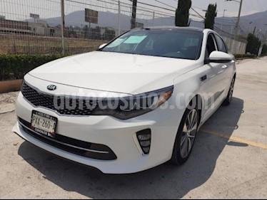 Kia Optima 4P SXL 2.0T TA A/AC. AUT. PIEL QCP GPS HARMAN KAR usado (2018) color Blanco precio $375,000