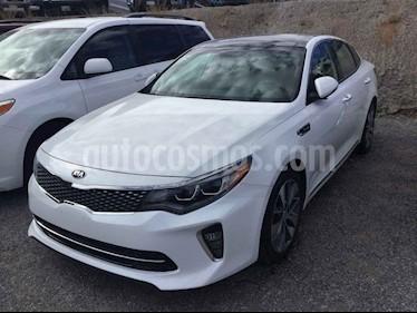 Kia Optima 4p SXL L4/2.0/T Aut usado (2018) color Blanco precio $395,000