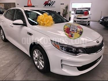 Kia Optima 2.4L GDI EX usado (2018) color Blanco precio $349,000