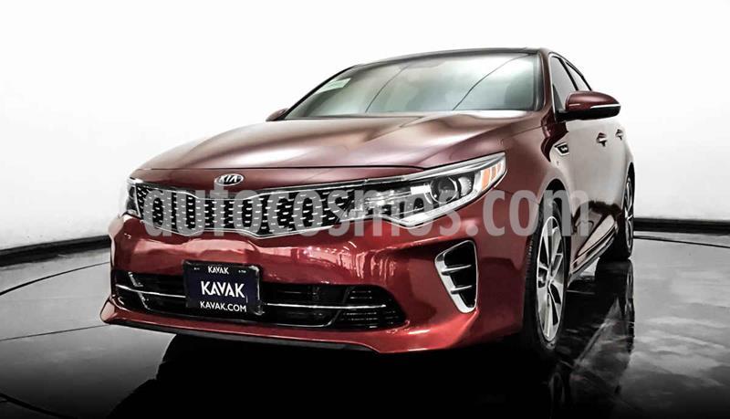 Kia Optima 2.0L Turbo GDI SXL usado (2016) color Rojo precio $287,999