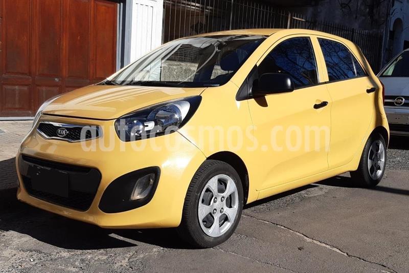 KIA Picanto EX usado (2011) color Amarillo precio $300.000