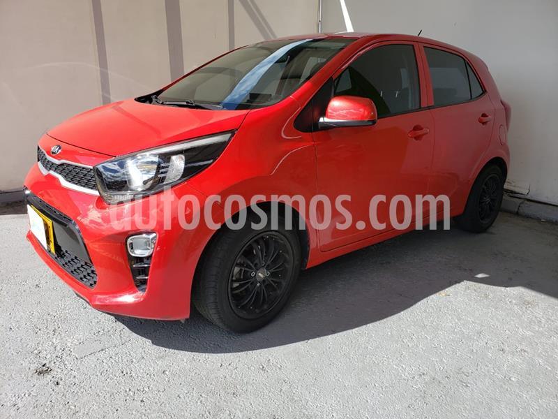 KIA Picanto 1.2L Aa  usado (2018) color Rojo precio $29.990.000