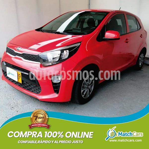 KIA Picanto 1.2L Aa  usado (2018) color Rojo precio $31.990.000