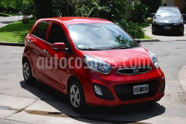 KIA Picanto EX Aut usado (2014) color Rojo precio $450.000
