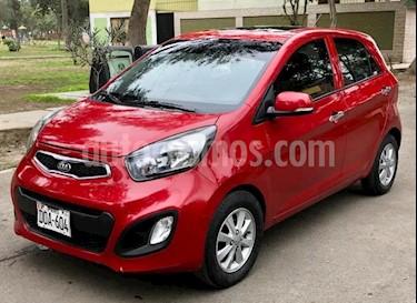 KIA Picanto 1.2L EX Aut usado (2013) color Rojo precio $3,800