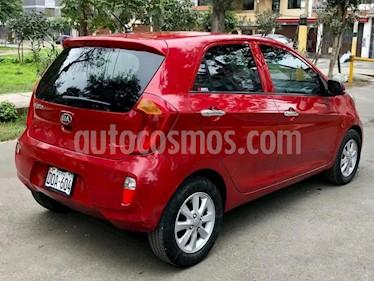 KIA Picanto 1.2L EX Aut usado (2014) color Rojo precio $3,800
