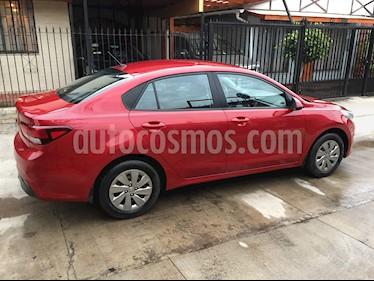 Kia Rio 4 1.4L LX AC ABS usado (2019) color Rojo precio $7.750.000