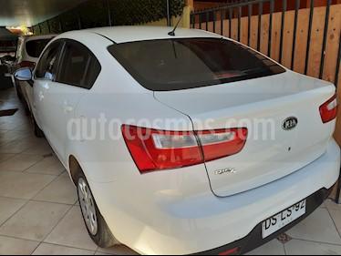 Kia Rio 4 EX 1.4L  usado (2012) color Blanco precio $4.600.000