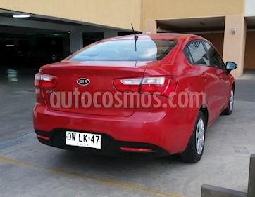 Kia Rio 4 1.4L EX Full usado (2012) color Rojo precio $4.900.000