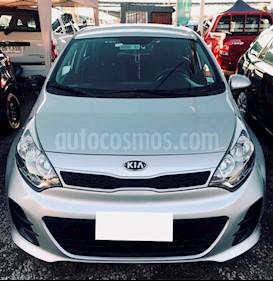 Foto venta Auto usado Kia Rio 5  1.2L EX (2016) color Gris Platino precio $6.490.000