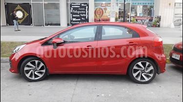 Kia Rio 5  1.4L EX Euro Copa usado (2016) color Rojo precio $8.400.000