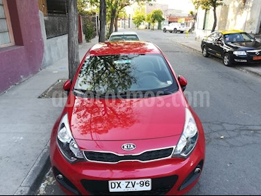Foto venta Auto Usado Kia Rio 5  EX 1.4L Ac (2012) color Rojo precio $5.500.000