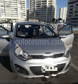 Kia Rio 5  EX 1.4L usado (2014) color Plata precio $5.500.000