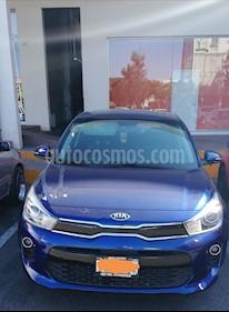 Kia Rio Hatchback EX Pack Aut usado (2018) color Azul Azzuro precio $250,000