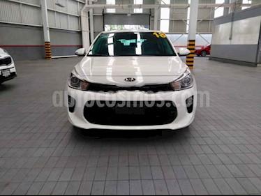 Foto venta Auto usado Kia Rio Hatchback EX Pack Aut (2018) color Blanco precio $269,000